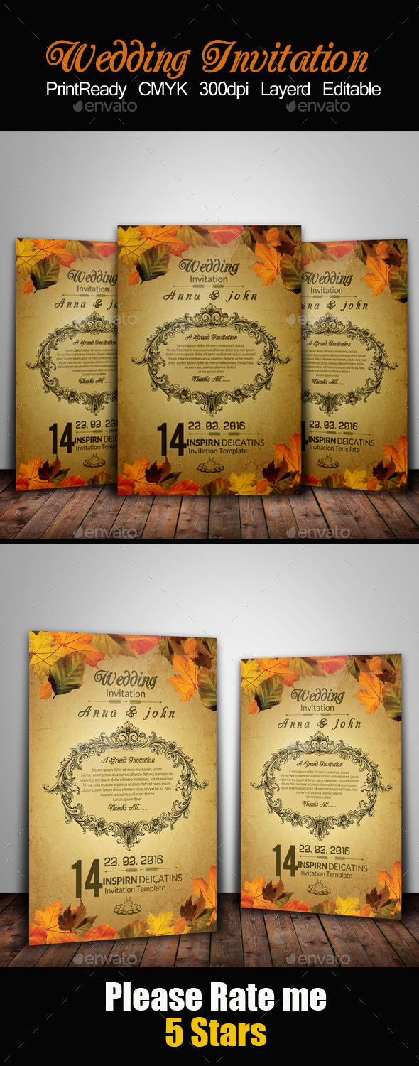 Wedding Invitation & RSVP - Invitations Cards & Invites