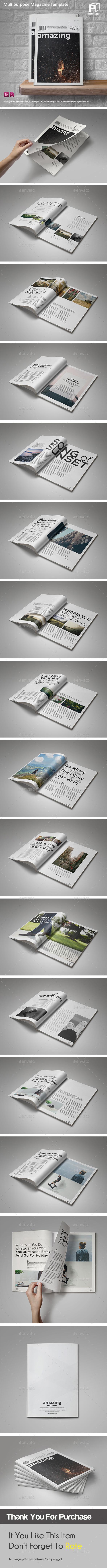 Clean & Simple Magazine Vol.3 - Magazines Print Templates
