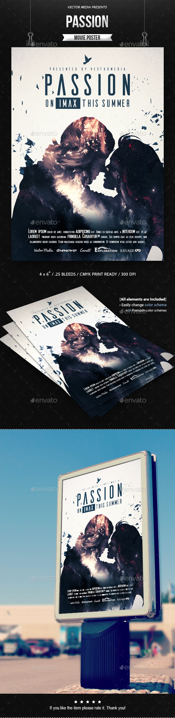 Passion - Movie Poster - Miscellaneous Events