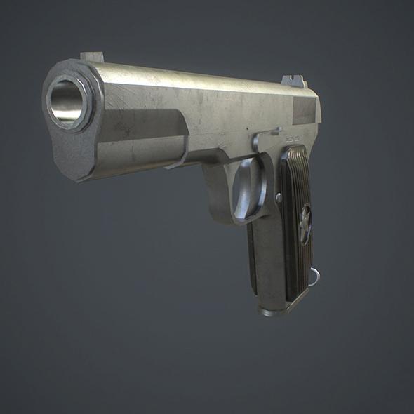 TT Pistol - 3DOcean Item for Sale