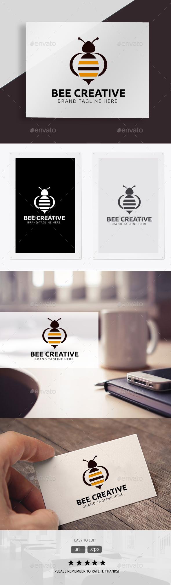 Bee Creative - Animals Logo Templates