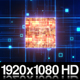 Computer Microchip CPU - VideoHive Item for Sale