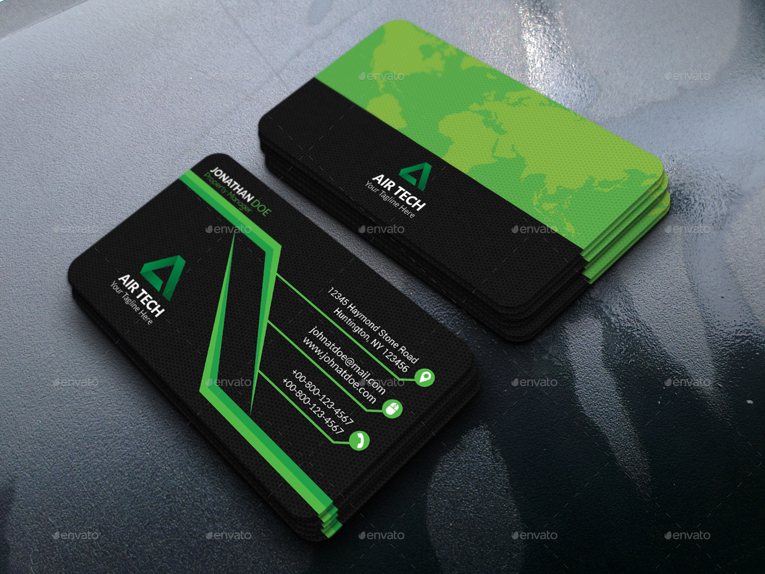 Corporate Technology Business Card Design by asthetic_design ...