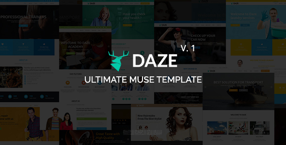DAZE – Ultimate Business Muse Template