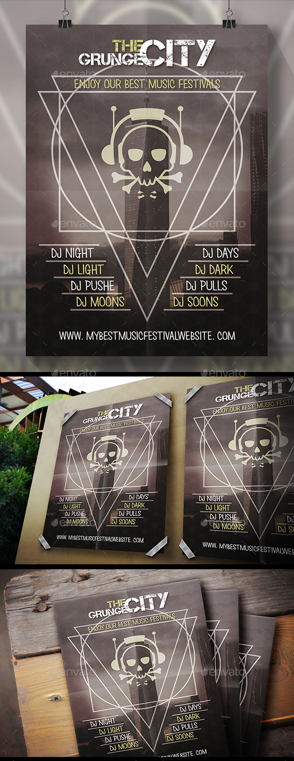 Music City Flyer - Clubs & Parties Events