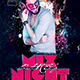Mix Night Party Flyer - GraphicRiver Item for Sale