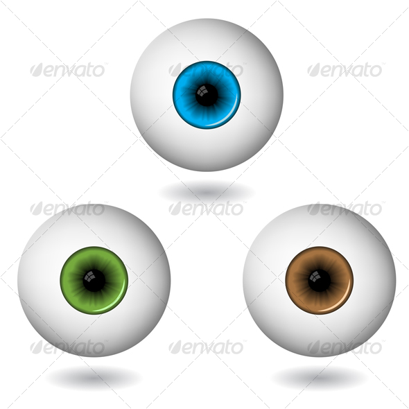 colourful eyes - Health/Medicine Conceptual