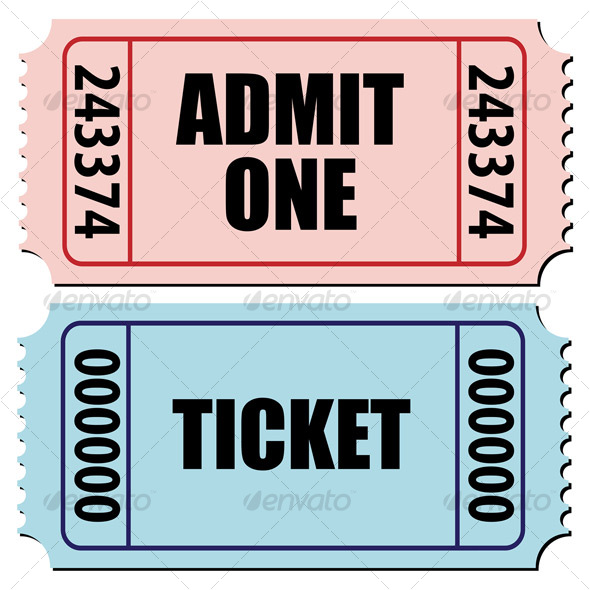 Tickets - Sports/Activity Conceptual