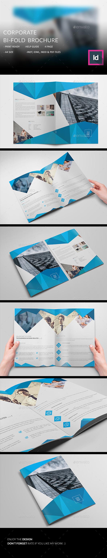 Corporte Bi-fold Brochure - Corporate Brochures