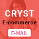 Cryst E-commerce Newsletter - Version 2 - GraphicRiver Item for Sale