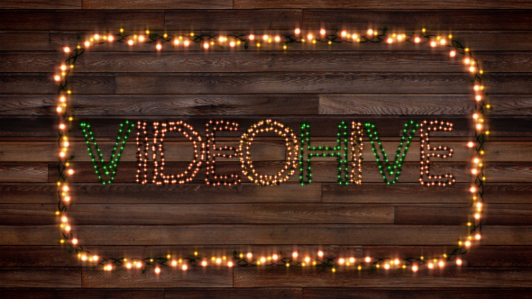 Christmas Lights Letters V2 0