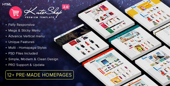 KuteShop - Multi-Purpose Ecommerce HTML Template - Shopping Retail