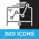 320 Business / Seo / Marketing Icons - GraphicRiver Item for Sale