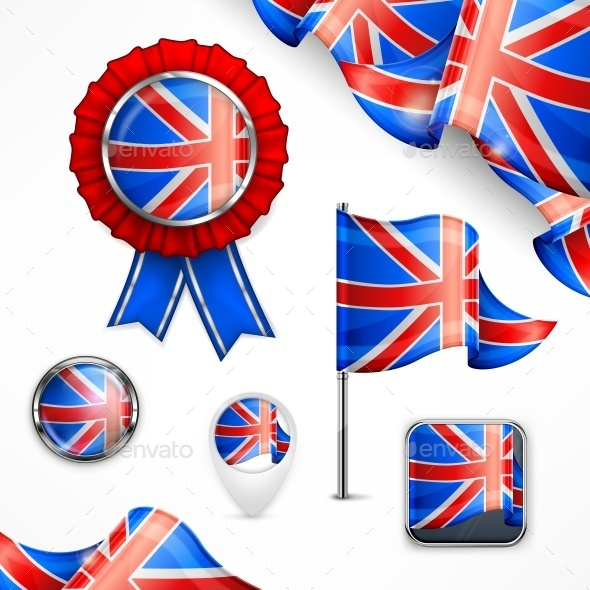British National Symbols - Miscellaneous Vectors
