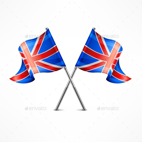 Two British Flag - Miscellaneous Vectors