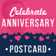 Anniversary Postcard - GraphicRiver Item for Sale