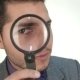 Through Magnifying Glass - VideoHive Item for Sale