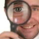 Businessman Looking Through Magnifying Glass - VideoHive Item for Sale