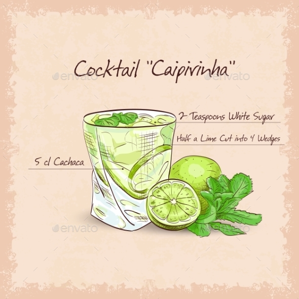 Caipirinha - Backgrounds Decorative