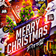 Flyer Merry Christmas Party - GraphicRiver Item for Sale