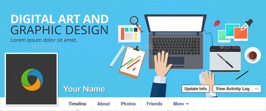 web  u0026 graphic design facebook cover by doto