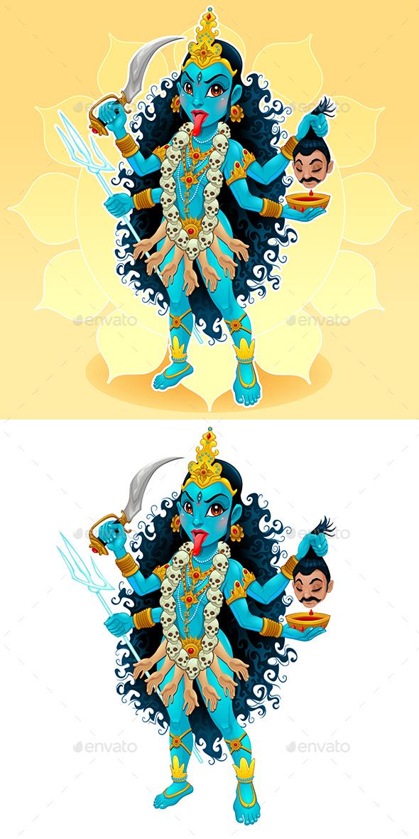 Kali Goddess - Miscellaneous Characters