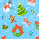 Christmas Holiday Seamless Background Pattern - GraphicRiver Item for Sale