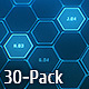 Hi-Tech Backgrounds Pack 3 - VideoHive Item for Sale