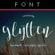 Glytten Calligraphy Typeface - GraphicRiver Item for Sale