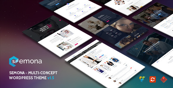 Semona - Creative Multi-Concept WordPress Theme