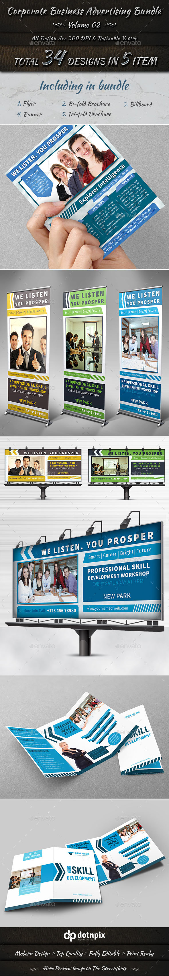 Corporate Business Advertising Bundle | Volume 2 - Corporate Flyers