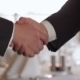 The Men Shake Hands - VideoHive Item for Sale