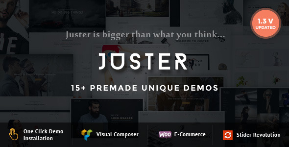 Juster – Multi-Purpose WordPress Theme