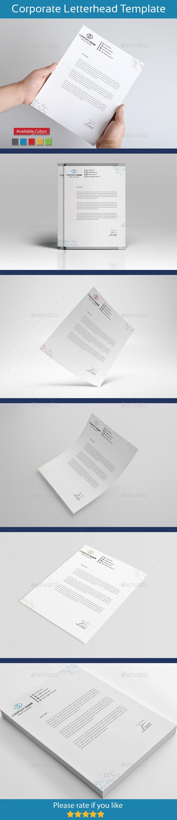 Global Letterhead - Stationery Print Templates