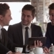 The Meeting Of Three Business People - VideoHive Item for Sale