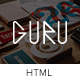 Guru - Multi Authors Magazine/Blog Template - ThemeForest Item for Sale