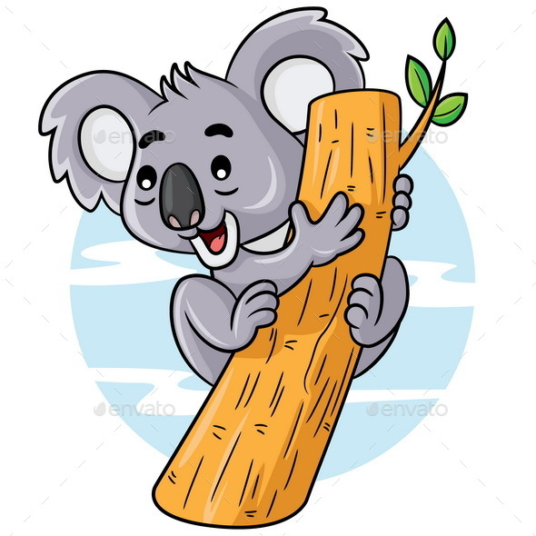 Koala Cartoon - Animals Characters