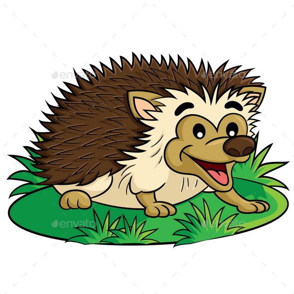Hedgehog Cartoon - Animals Characters