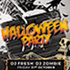 Dead Will Rise Halloween Flyer - GraphicRiver Item for Sale