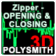 Zipper Open and Closing
