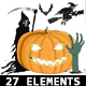 Halloween Theme 27 Elements  - VideoHive Item for Sale
