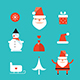 29 Christmas New Year Elements Set Icons for Web - GraphicRiver Item for Sale