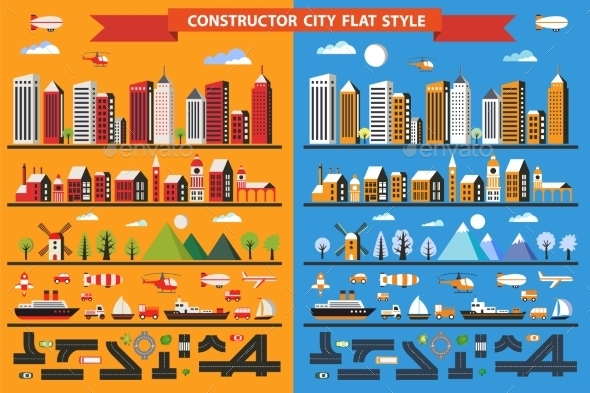 Constructor City - Buildings Objects