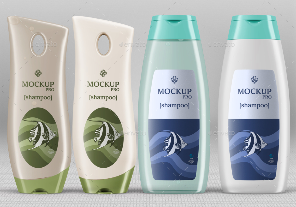 10 Shampoo Bottle Mockups by Fusionhorn | GraphicRiver