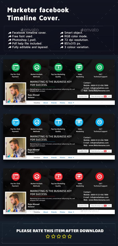 Marketer Facebook Timeline Cover  - Facebook Timeline Covers Social Media
