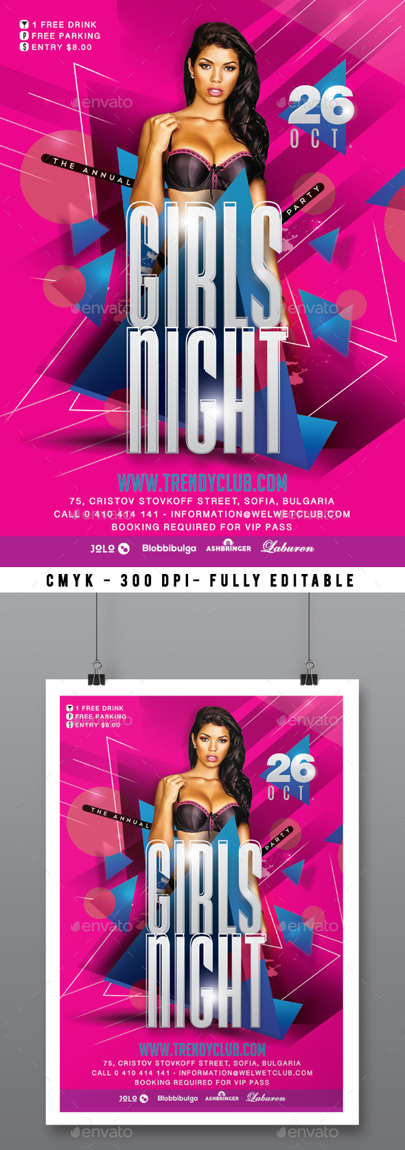 Girls Night Party - Clubs & Parties Events