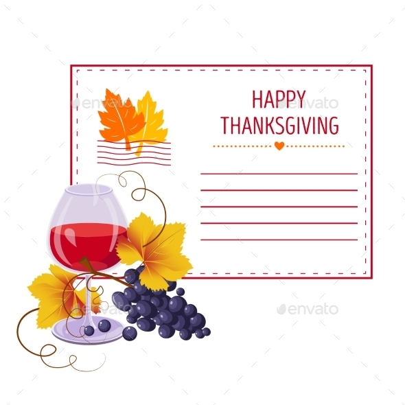 Invitation for Thanksgiving - Seasons Nature