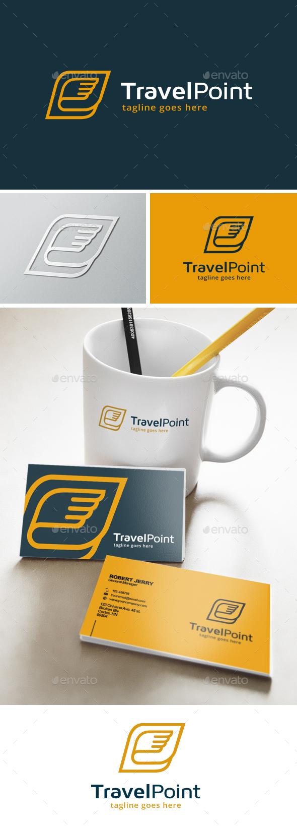 Travel Point Logo - Symbols Logo Templates