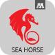 Sea Horse Logo - GraphicRiver Item for Sale