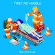 Hospital 13 People Isometric - GraphicRiver Item for Sale